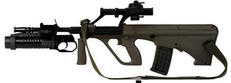 Anbau-Granatwerfer AG77 A1
