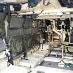 Schützenpanzer Ulan Kampfraum