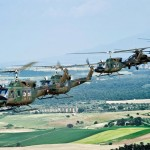Agusta Bell AB-212 mit Agusta A 129 Mangusta
