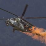 Mil Mi 24 Hind bei der Airpower 2011