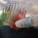 Frecce Tricolori bei der Airpower 2011