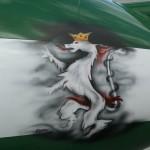 Royal Saudi Hawks mit Styrian Panther