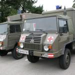 San Pinzgauer 718 Turbodiesel und San Pinzgauer 712