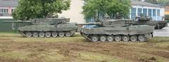 Kampfpanzer Leopard 2 A4 des Panzerbataillons 14 (PzB14)