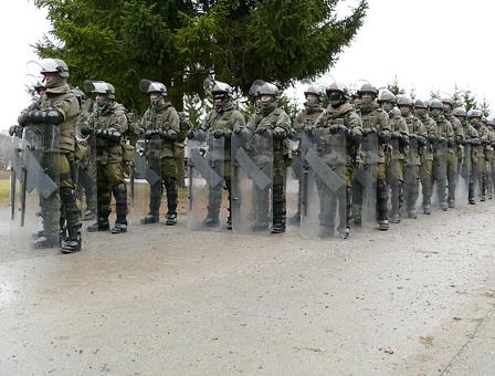 Österreichische Soldaten in CRC Ausrüstung