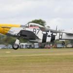 "North American P-51D Mustang ""Ferocious Frankie"" G-BTCD/413704/B7-H"