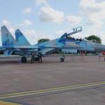 Suchoi Su-27 Flanker der Ukraine Air Force