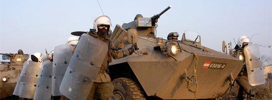 Radpanzer Pandur bei der DISPUTE 05