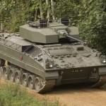 Schützenpanzer Warrier mit CT40 CTAS