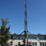 Automatisches Antennenmastsystem 25 m