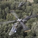 Agusta A-109BA Hirundo H01 und H31 der beglischen Luftstreitkräfte