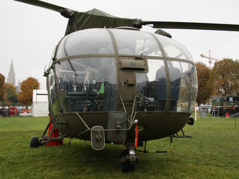Sud-Aviation SA 316B Alouette III, 3E-KR