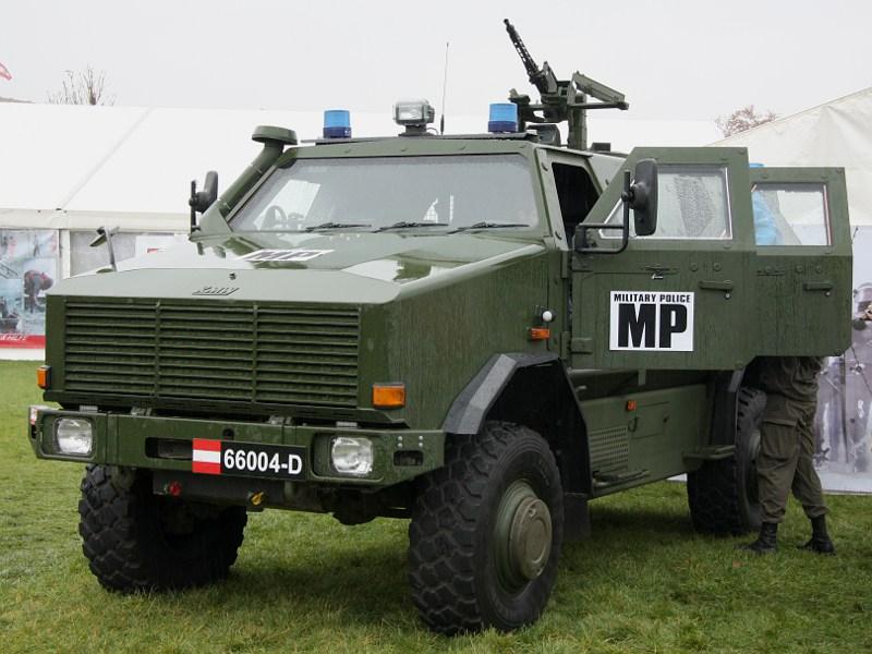 Allschutzfahrzeug Dingo II 4x4, Militärpolizei