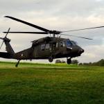 Luftlandung mit dem Sikorsky S-70A-42 Black Hawk