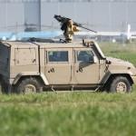Iveco LMV mit Waffenstation Kongsberg Protector M151A2