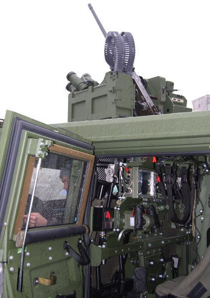 Iveco LMV, Waffenstation ERCWS-M von Elbit / ESL