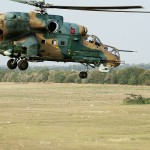 Mil Mi 24P Hind '336' und Flugabwehrraketensystem 2K12 KUB (SA-6 Gainful), Hungarian Armed Forces