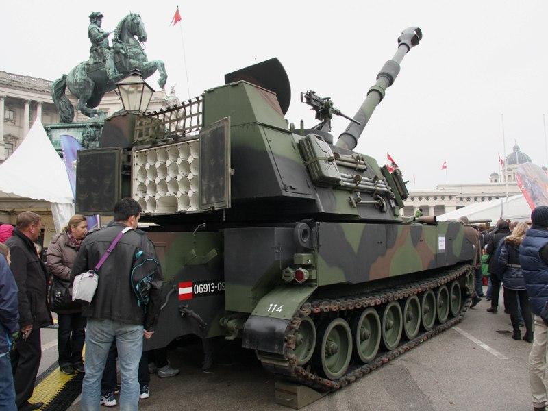 155 mm Panzerhaubitze M-109A5Ö