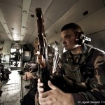 Spezialeinsatzkräfte im Laderaum einer ungarischen Mil Mi 17
