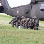 Anlandung der Spezialeinsatzkräfte der Militärpolizei