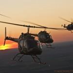Bell OH-58B Kiowa 3C-OL und 3C-OJ, MBB Bo-105 P/M