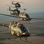 Bell OH-58B Kiowa 3C-OL und 3C-OJ, MBB Bo-105 P/M Bundeswehr