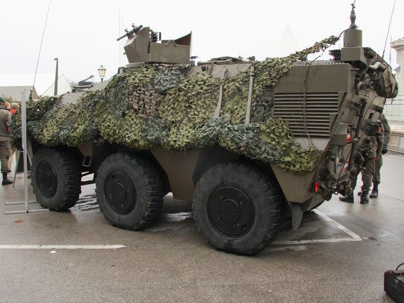 Radpanzer Pandur des Jägerbataillons 17