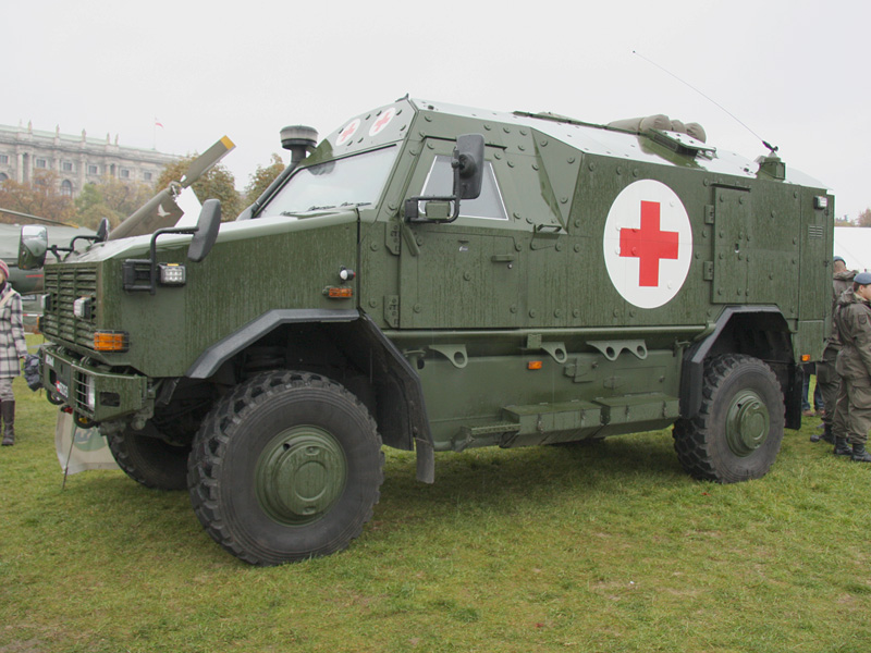 Geschütztes Notfallfahrzeug Dingo II