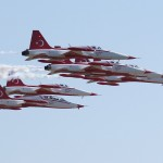 Northrop NF-5A und zweisitzige NF-5B Freedom Fighter der Turkish Stars