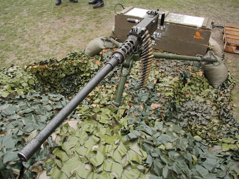 überschweres Maschinengewehr M2 im Kaliber 12,7 mm