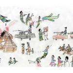 Kinderzeichnungen Darfur