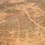 Flüchtlingslager nahe der Grenze zwischen dem Tschad und dem Sudan