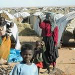 Flüchtlinge aus Darfur