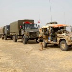 Versorgungskonvoi des österreichischen EUFOR-Kontingents