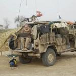 Einsatzfahrzeug vom Typ Puch G SOF Sandviper