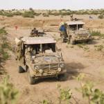 Einsatzfahrzeuge vom Typ Puch G SOF Sandviper © Bundesheer