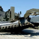 Pionierpanzer Kodiak mit Minenpflug