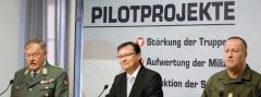 Darabos' Pilotprojekte für ein Berufsheer