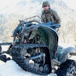Yahama 700 Grizzly mit Raupen