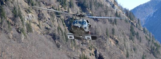 Capricorn 2012 - Übung im Hochgebirge