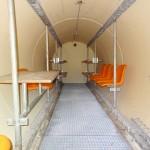 Das Innere des Fertigteil-Unterstands der Firma Eternit © Doppeladler.com