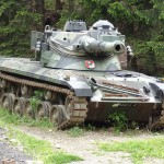 Jagdpanzer Kürassier A1 mit 10,5 cm Kanone. Während des Sicherungseinsatzes im Zuge der Slowenienkrise gingen Kürassiere am Wurzenpass in Stellung © Doppeladler.com