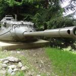 Auch die 9 cm Türme des Kampfpanzers M47 Patton wurden nach dem Ausscheiden der Wannen in Feste Anlagen eingebaut © Doppeladler.com