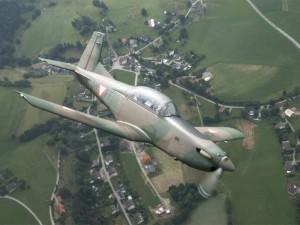 Pilatus PC-7 Turbo Trainer © Bundesheer