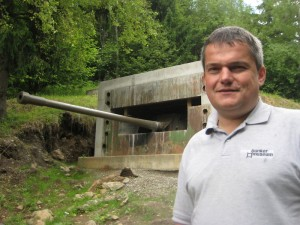 Mag. Andreas Scherer, Betreiber des Bunkermuseums © Bunkermuseum.at