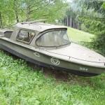 Ein Boot am Wurzenpass? Es handelt sich um ein Patrouillenboot des Sperr-Regiments Donau - die Raumverteidigung machte auch vor Flüssen nicht halt © Doppeladler.com