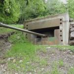 Besonders aufwändig verbunkerter Panzerturm Charioteer mit 8,34 cm Panzerkanone L/70 M.2 © Doppeladler.com