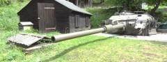Verbunkerter Centurion Panzerturm im Bunkermuseum © Doppeladler.com