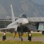 Die Aufgabe der Typhoons ist die Errichtung und Aufrechterhaltung einer Flugverbotszone über Allentsteig © Strobl