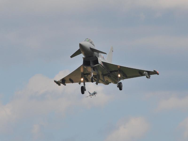 Eurofighter Typhoon © Strobl